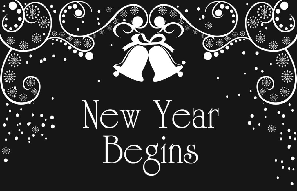 New Year Begins Header